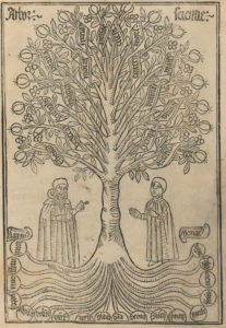 Ramon Llull's Tree of Science from L'arbre de ciència