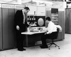 The DEC PDP 6 computer from 1964