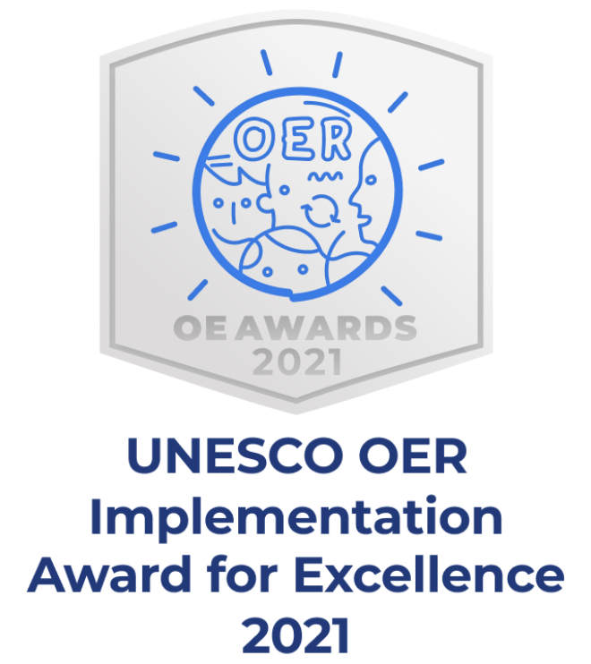 UNESCO OER Implementation Award for Excellence